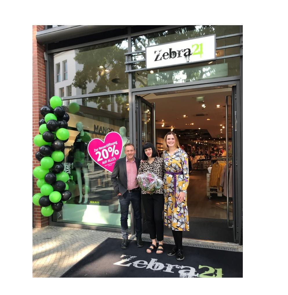 Neueröffnung Zebra21