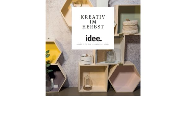 idee creativ Angebote für September und Oktober