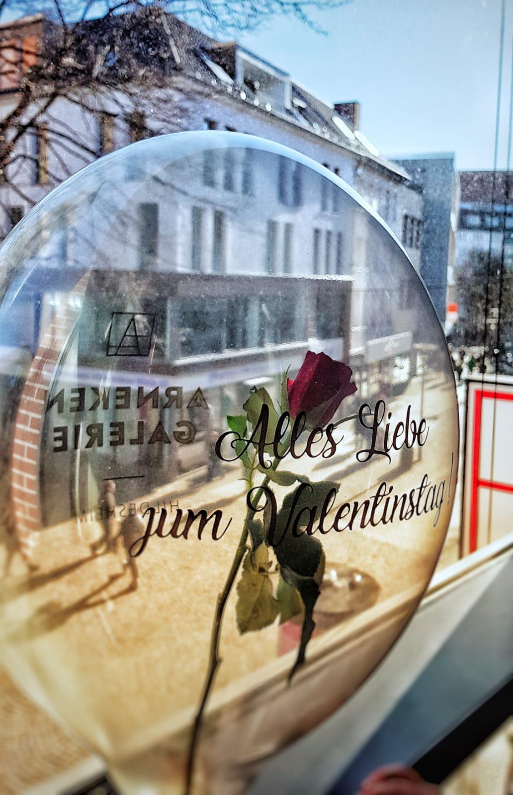 Valentinstag in der Arneken Galerie