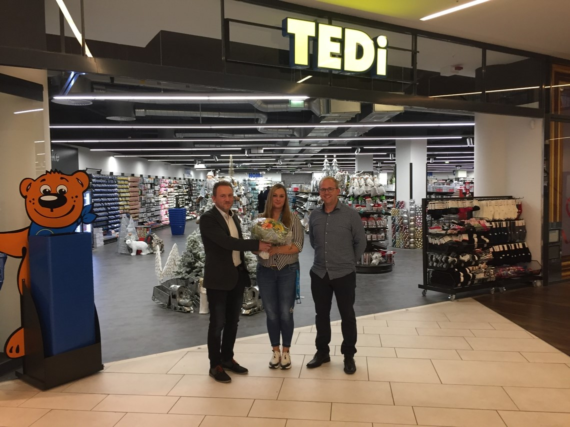 Eröffnung TEDI