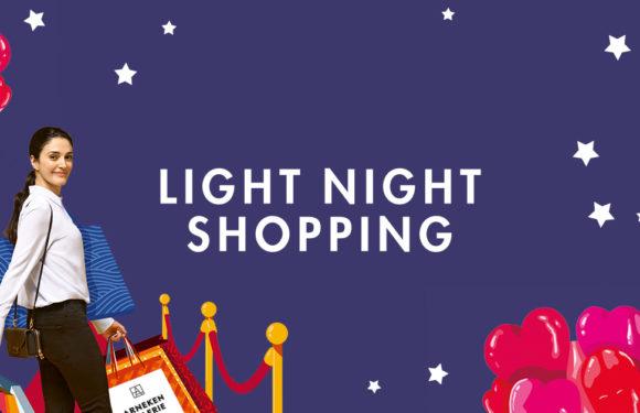 Light Night Shopping 25.10.2019 bis 23 Uhr geöffnet