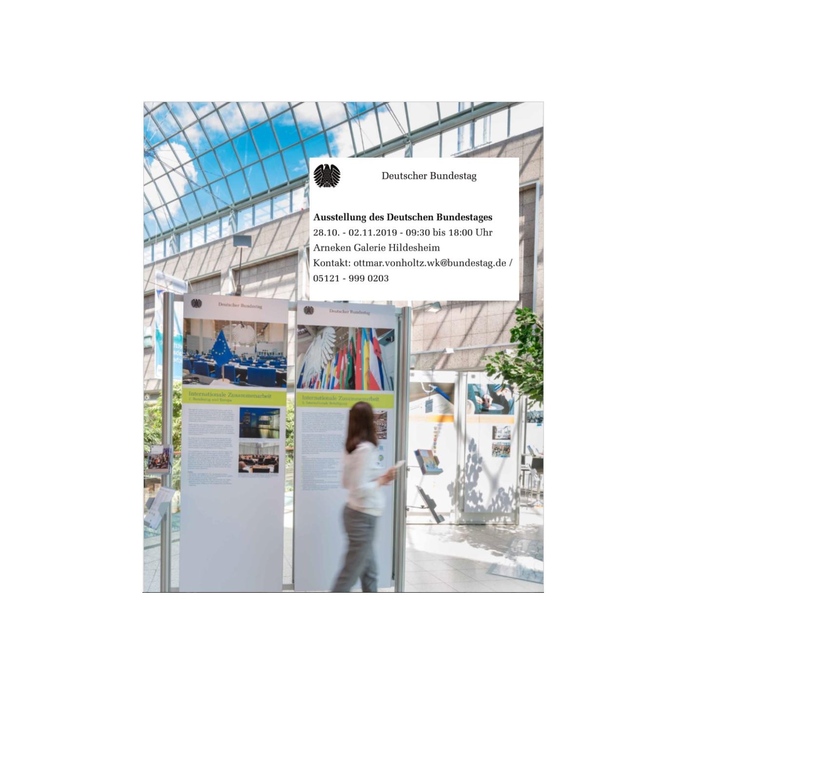Ausstellung des Deutschen Bundestages