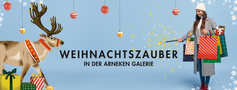 Weihnachtszauber in der Arneken Galerie