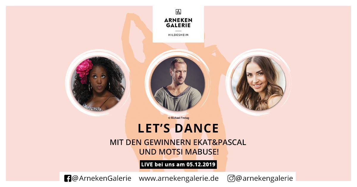 Let`s Dance in der Arneken Galerie