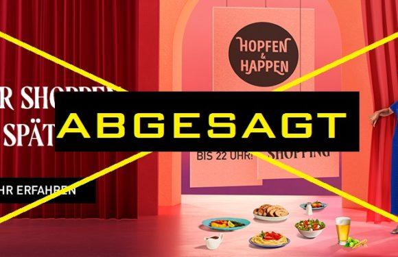 Hopfen und Happen – Late Night Shopping ABGESAGT