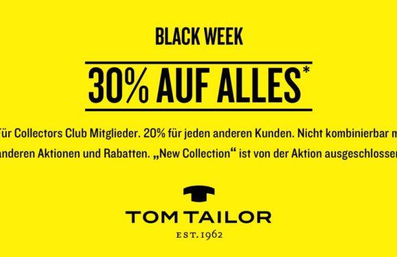 Tom Tailor Black Week