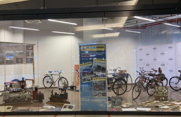 Ausstellung – Historische Fahrräder